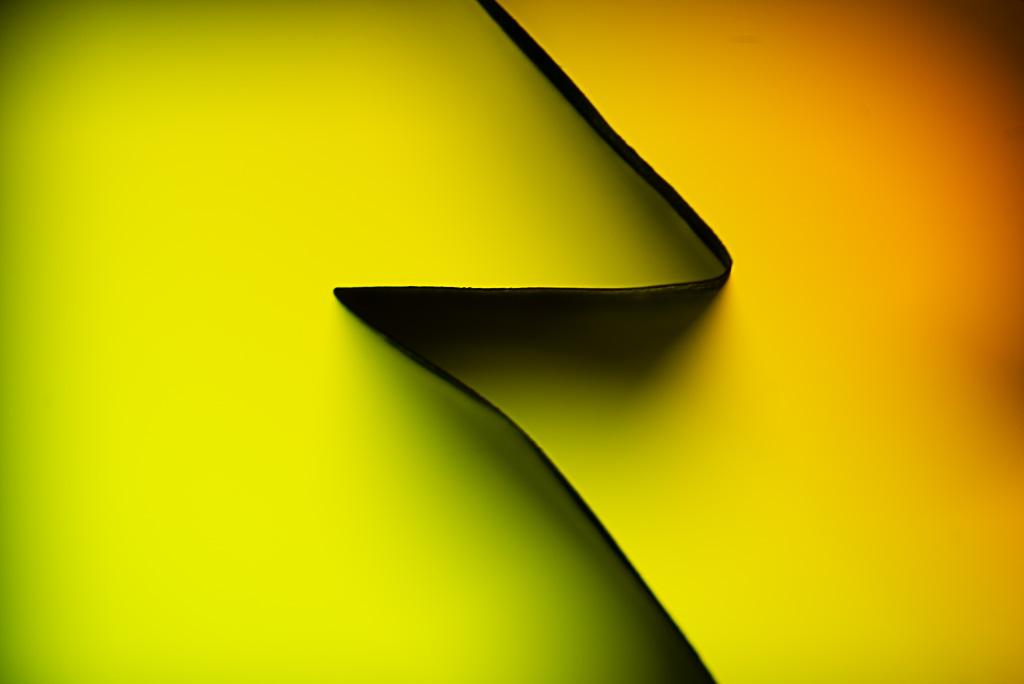 Photoramble: Paper fold abstract