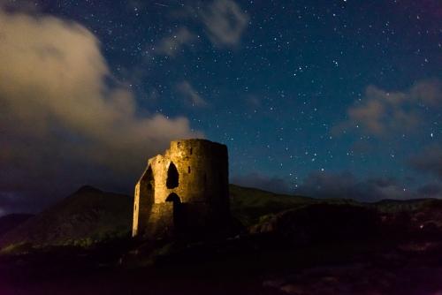 Shooting Stars in Eryri